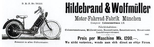 Histoire de la moto. 1895%20-%20H&W